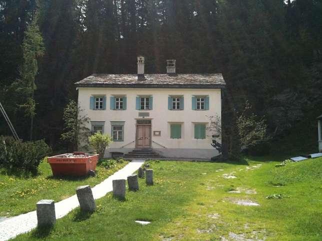 Geburtshaus von Nietzsche in Sils Maria