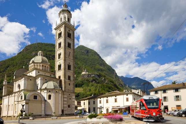 Von Brusio nach Tirano