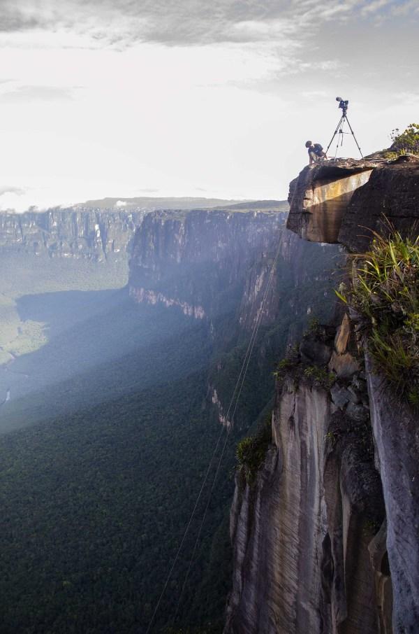 Einsatz in Venezuela am Salto Angel.